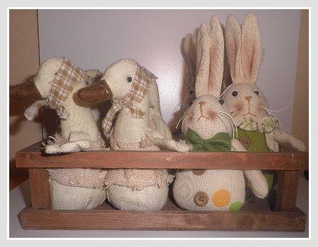 Zajac textilný