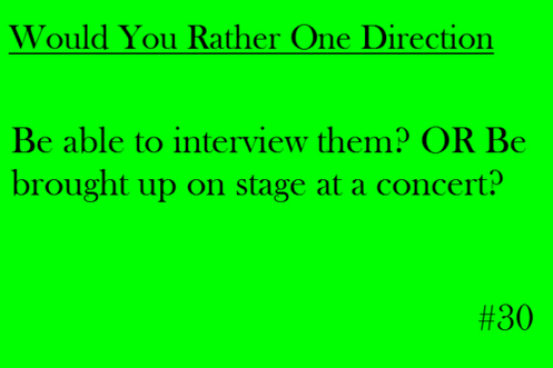 Concert1 No Brainer D One Direction Imagines One Direction This Or That Questions