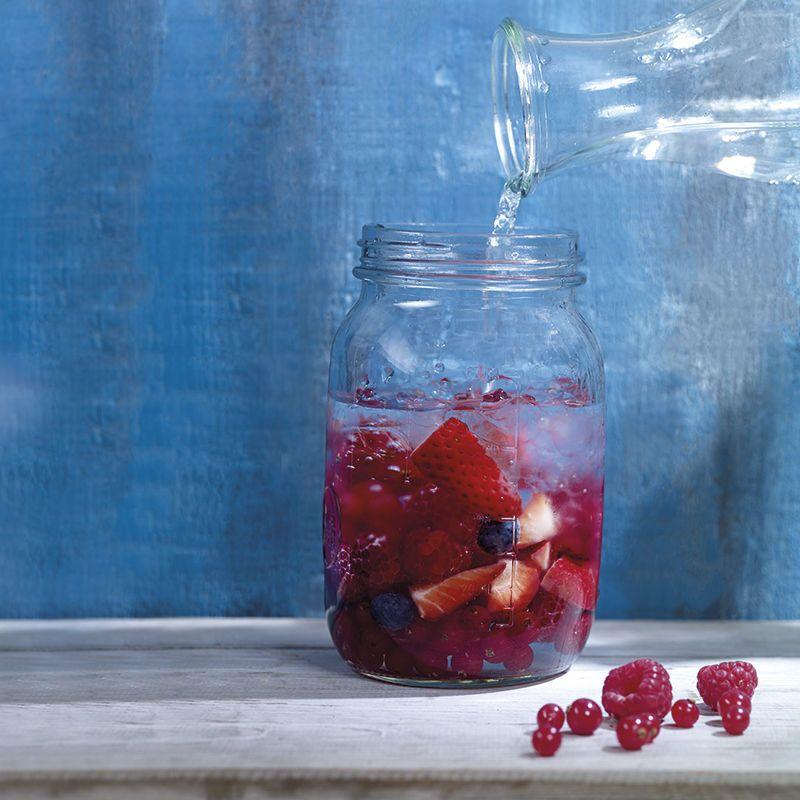 Eau aux fruits rouges #Recettes #WeightWatchers #zéroPoints