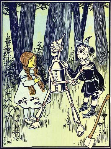 Wonderful Wizard of Oz by Frank Baum Illustrated Denslow New Deluxe Hardcover