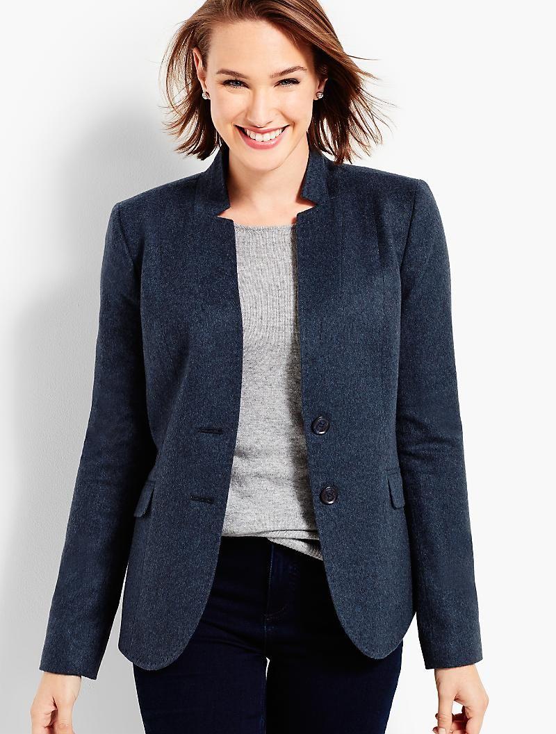 Cashmere Blend Aberdeen Blazer Talbots Blazer Talbots Jacket Outerwear Jackets [ 1057 x 800 Pixel ]