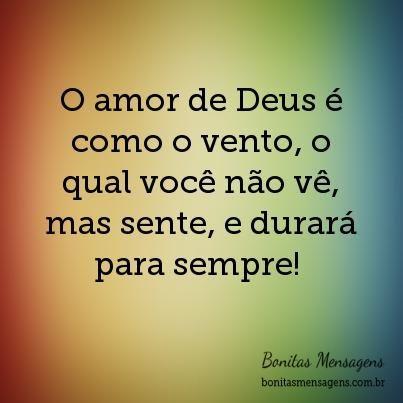 O Amor De Deus Amor Eterno Amor De Deus Palavra De Deus