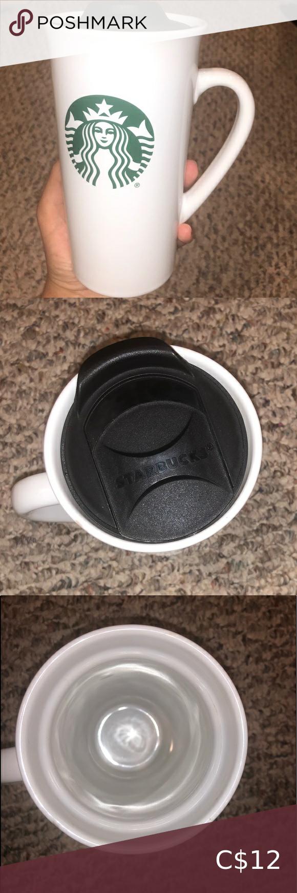 3/15 Starbucks Classic Mug With Lid in 2020 Logo mugs