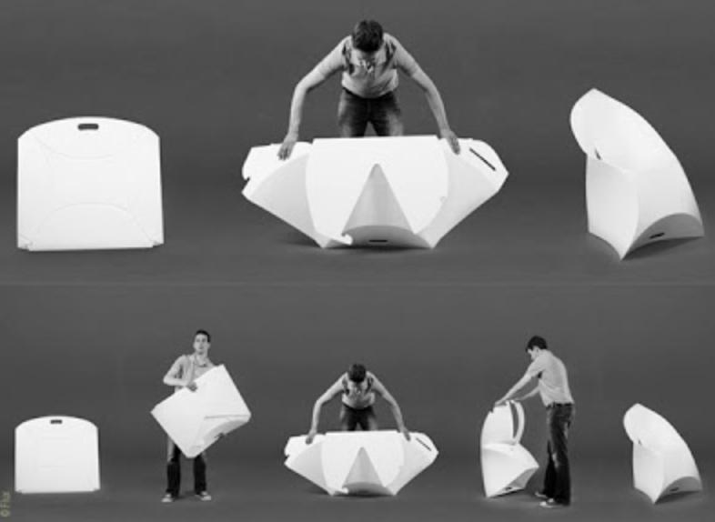 sedia origami