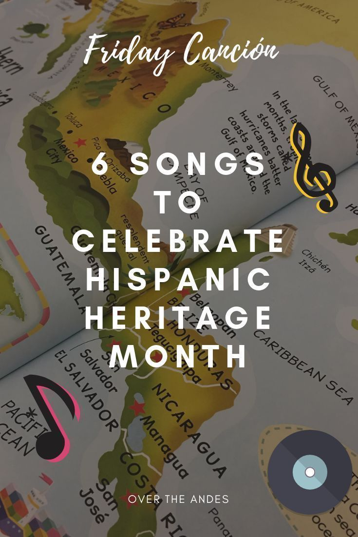 Friday Canción Music for Hispanic Heritage Month