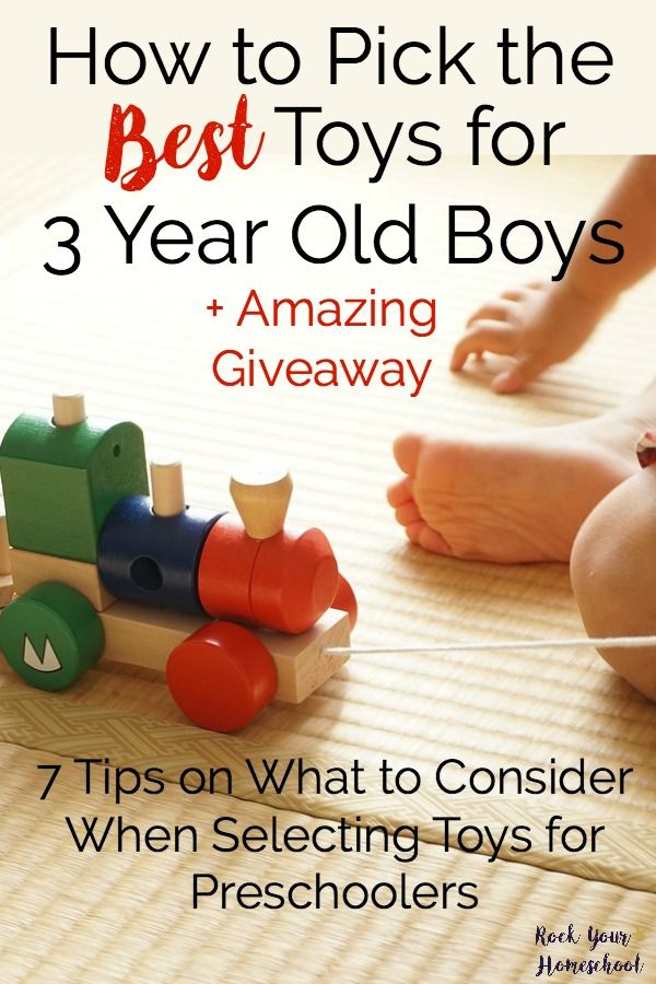 222020a49388e0 Discover how to pick the best toys for 3 year old with these 7 tips from a  mom of 5! Plus