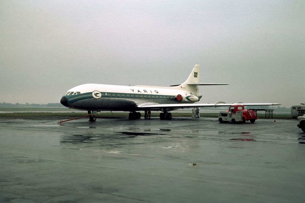 Chicago Midway Airport Varig Sud Caravelle Midway Airport Aircraft Design Boeing 727