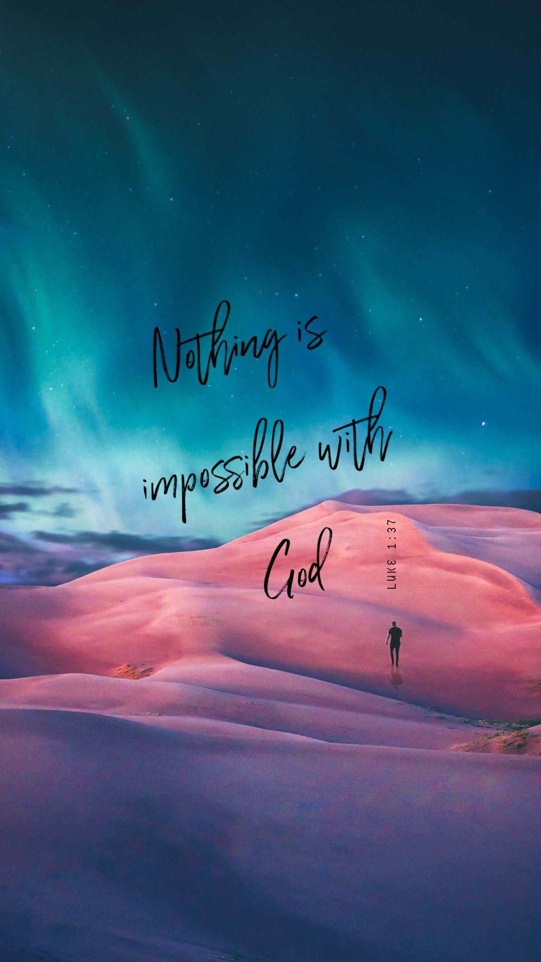 For With God Nothing Shall Be Impossible Luke 1 37 Kjv Https Bible Co Iphone Wallpaper Quotes Bible Inspirational Quotes Wallpapers Bible Quotes Wallpaper