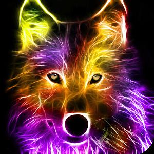 Fractal Wolf Wolf wallpaper, Animals, Wolf pictures