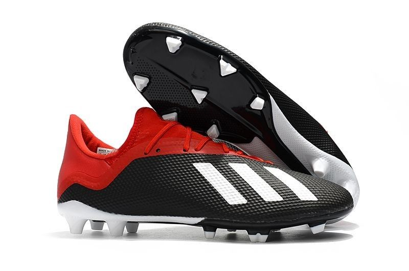 3e6adda8104 Adidas X 18.3 FG Soccer Cleats - Black Red White Websites