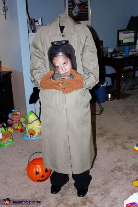 illusion halloween costume ideas headless girl costume