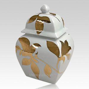 Gold Leaves Pet Cremation Urn Pet Cremation Urns Cremation Urns Pet Urns