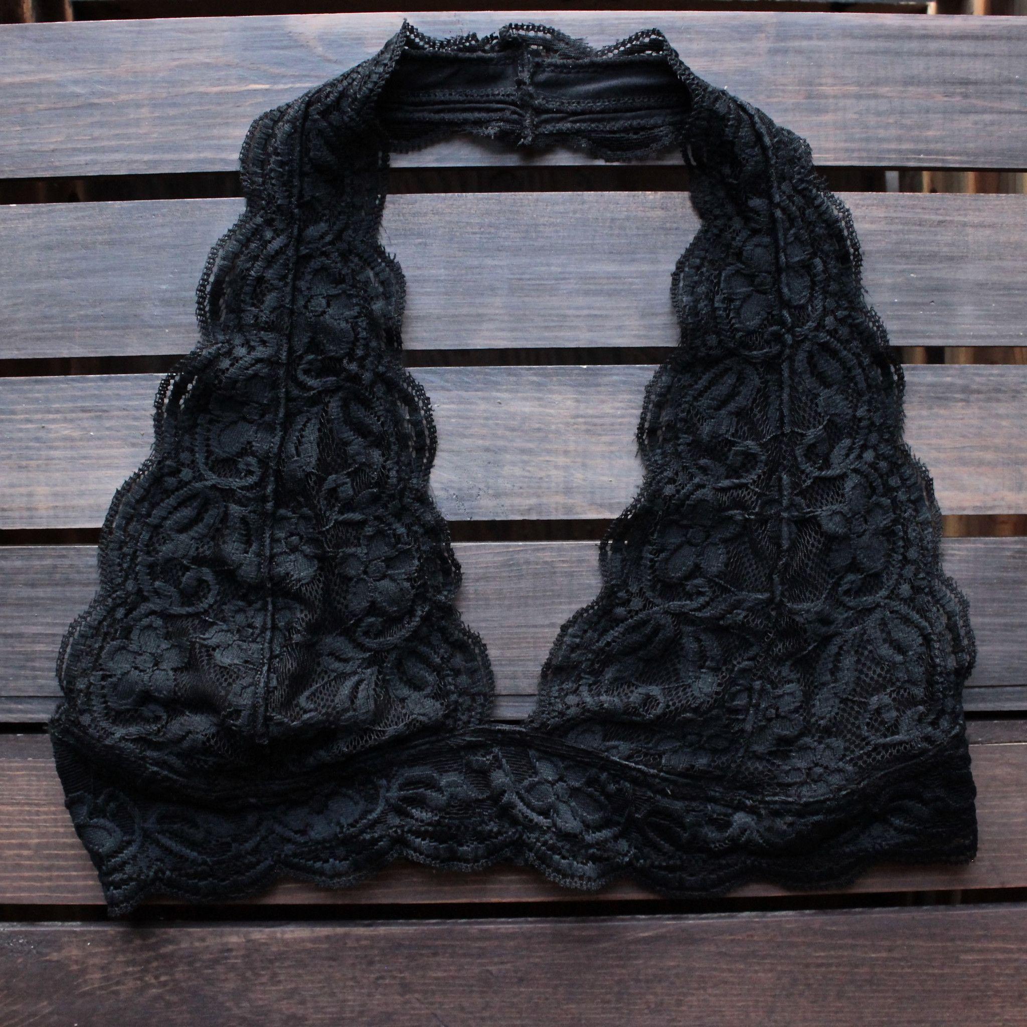 76d5e3ecb47 freedom halter lace bralette (4 colors) - shophearts - 1