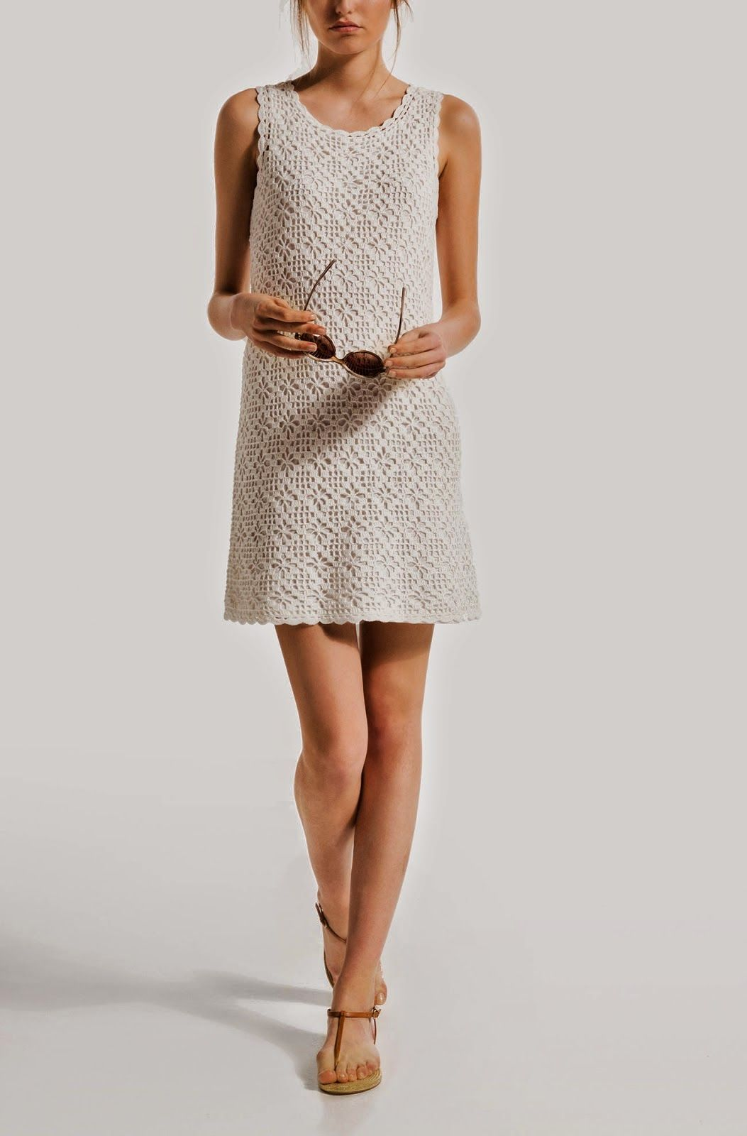 Free Crochet Pattern for Classic Casual and Chic Summer Dress ...