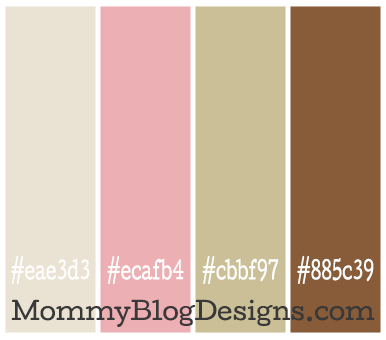 Color Combo 6 The Hex Color Codes Are Light Taupe