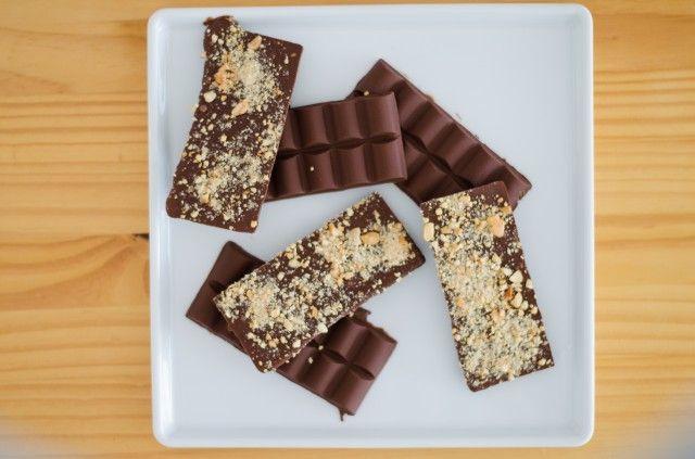 DIY chocolate handmade bars