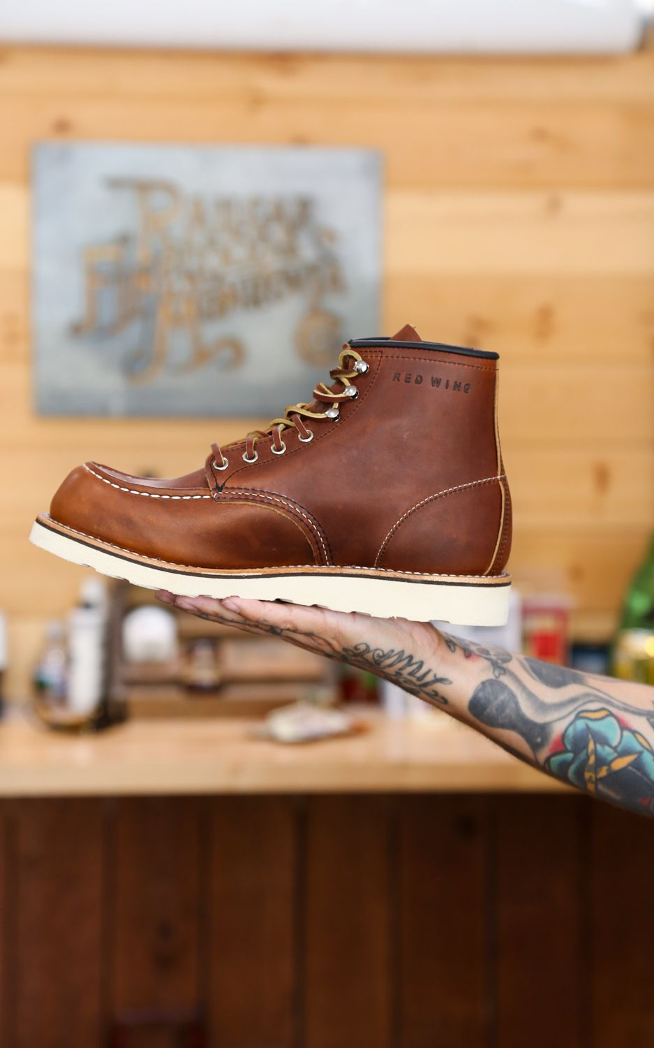 red wing work leather derby