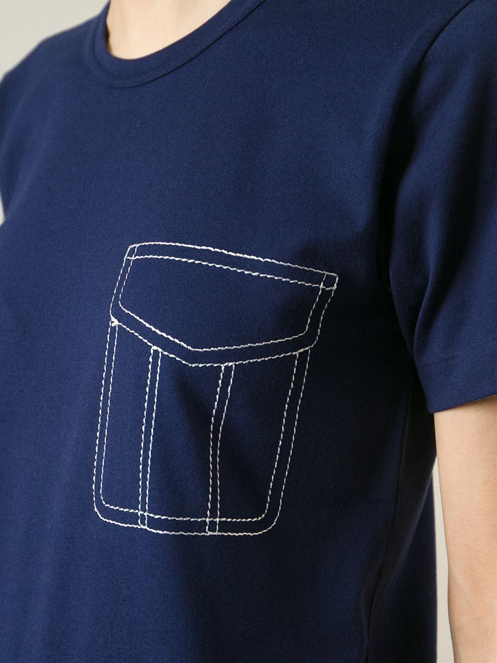 Comme Des Garçons Comme Des Garçons Fake Pocket Tshirt  Biffi