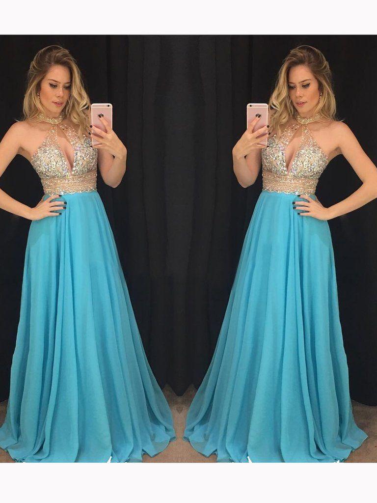 Sexy Prom Dresses Long 2018, Prom Dress, Evening Dresses, Formal ...