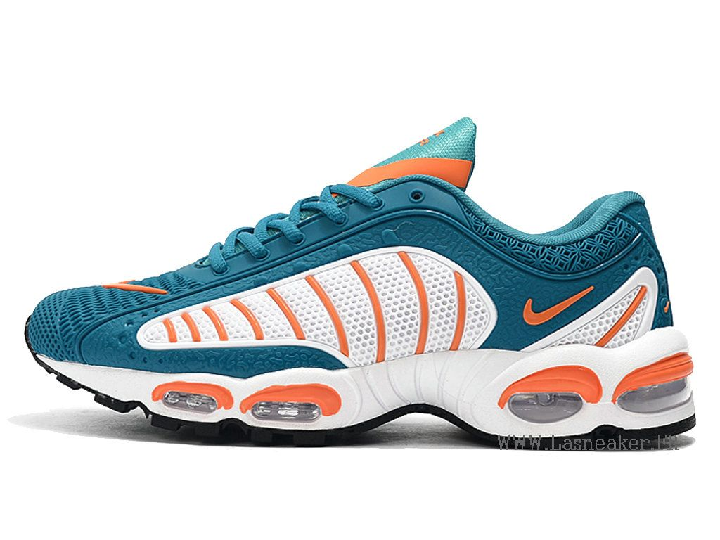 nike requin bleu et orange