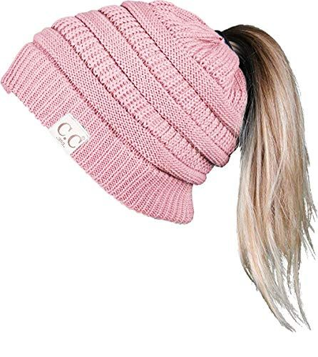 f0c39937ad7 The perfect Funky Junque CC 365 All Season Hat Womens BeanieTail Ponytail  Messy Bun Beanie.   12.99 - 24.99  allfashiondress from top store