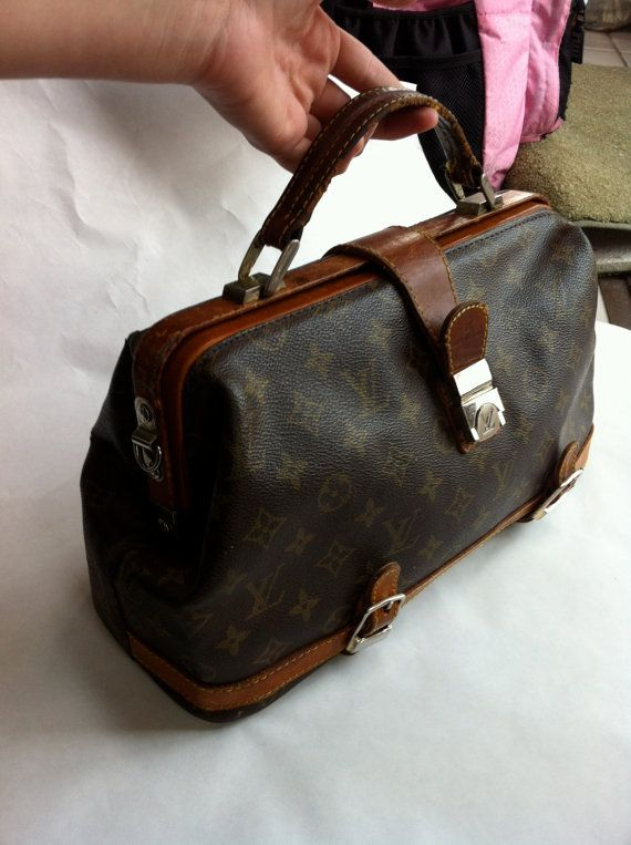 Louis Vuitton Monogram Doctor Bag Handbag By Bgvintagemart 316 11 Vintage