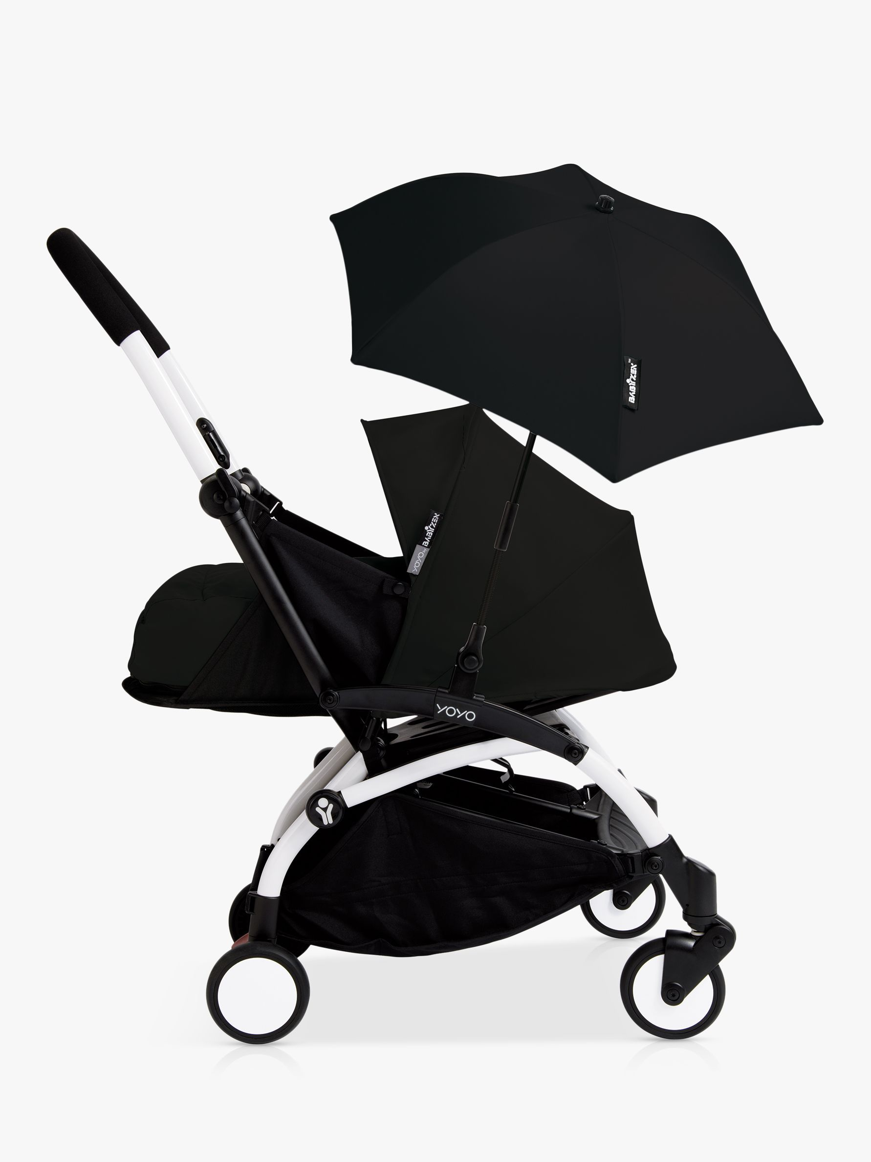 BABYZEN YOYO+ New Pushchair Parasol Prams, Blue, Navy blue