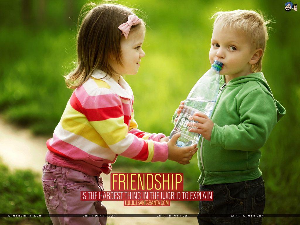 Cute Friendship HD desktop wallpaper High Definition Image Friendship Wallpapers Wallpapers