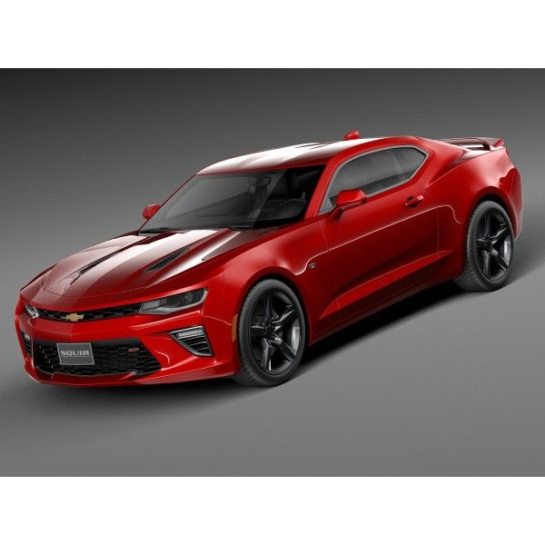 Chevrolet Camaro SS 2016 - 3D Model