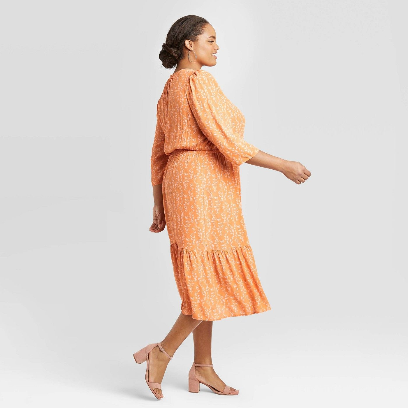 Affiliate Aff Tiered Midi Dress Casual Dresses For Women Long Sleeve Midi Dress [ 1400 x 1400 Pixel ]