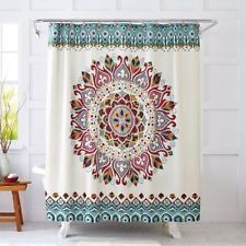 10 Decor Ideas For Your Boho Home Fabric Shower Curtains