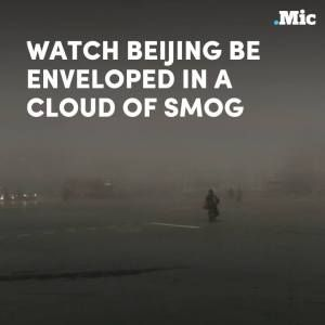 Beijing was just engulfed by dangerous smog  forcing the government to issue health warni #news #alternativenews