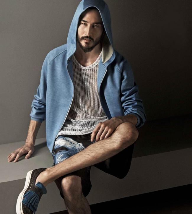 La Perla Spring 2015 Menswear - Tony Thornburg