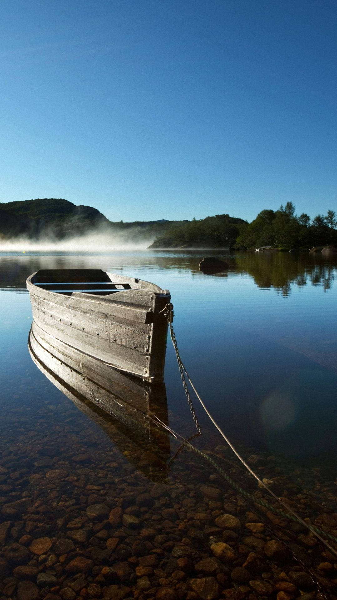 Boat On The River Boat Wallpaper Boat Nature Photos