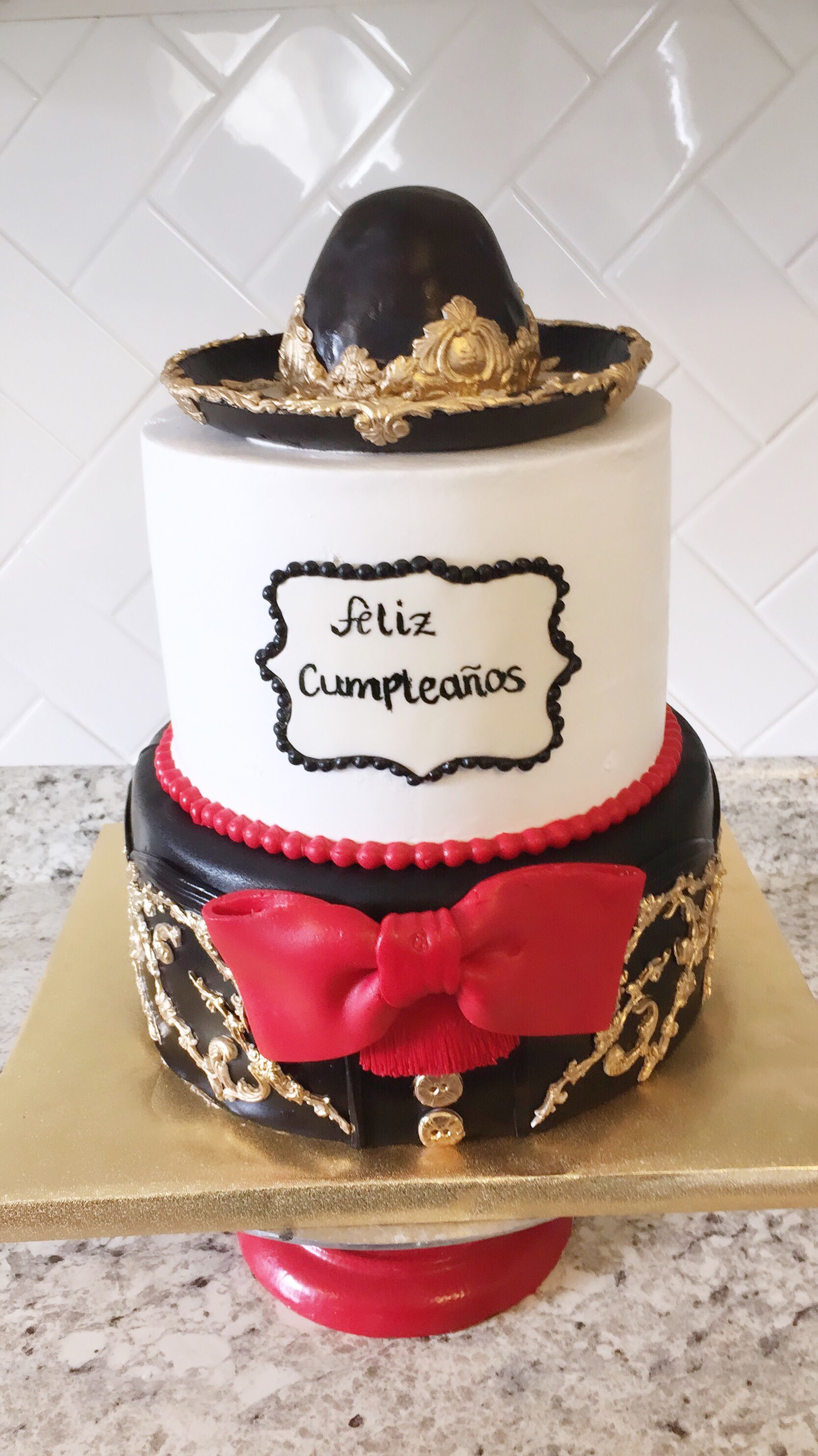 Fabulous This Stunning Mariachi Cake Was Created For A 15Th Birthday Party Personalised Birthday Cards Paralily Jamesorg