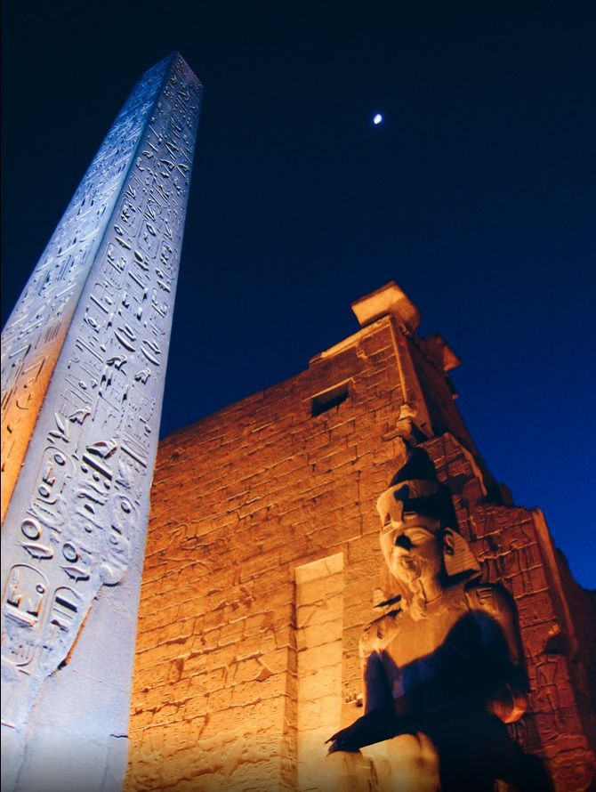gain a new experience about Luxor Temple through New Year Travel