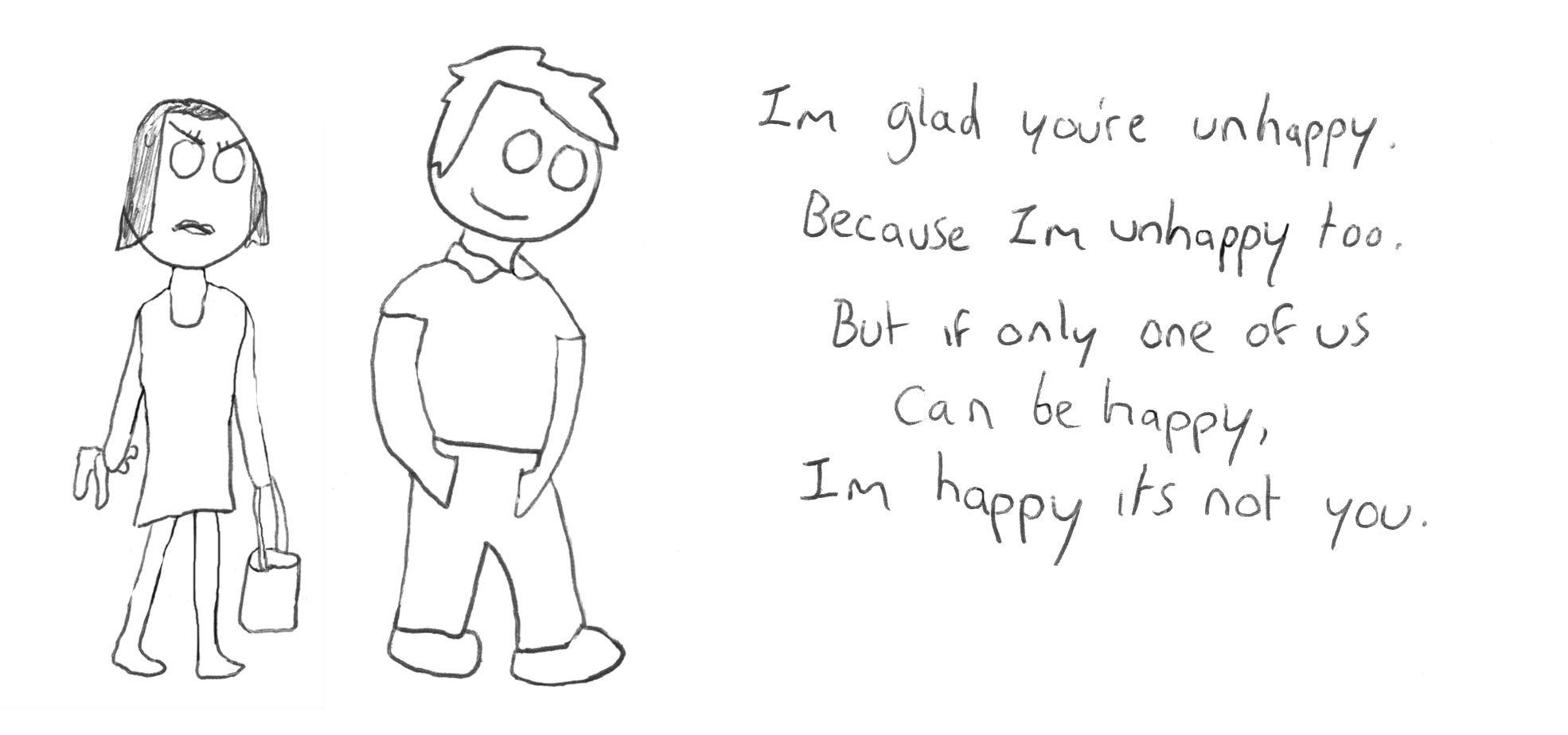Unhappy Poem Im Happy Poems Happy