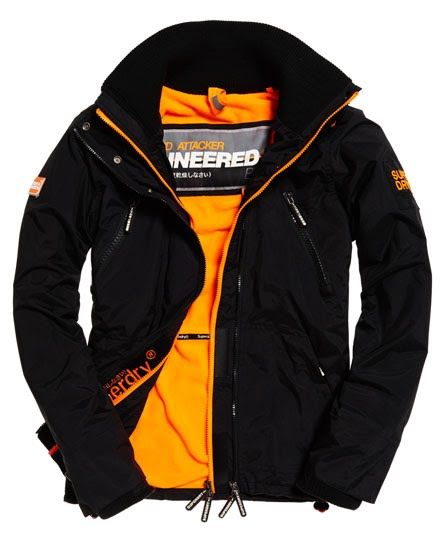 993464e50b6 Superdry Polar Wind Attacker Jacket Black