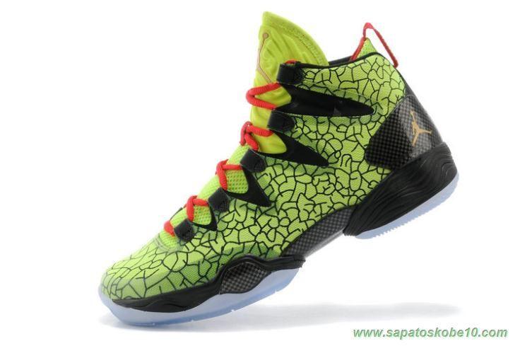 promo code 50882 86a2f Air Jordan XX8 SE Verde Preto Masculino site de compra de tenis