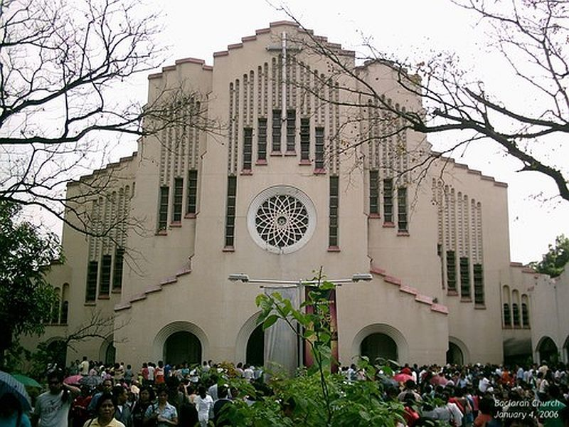 Modern Architecture In The Philippines baclaran church cesar concio and jesse bontoc - modern romanesque