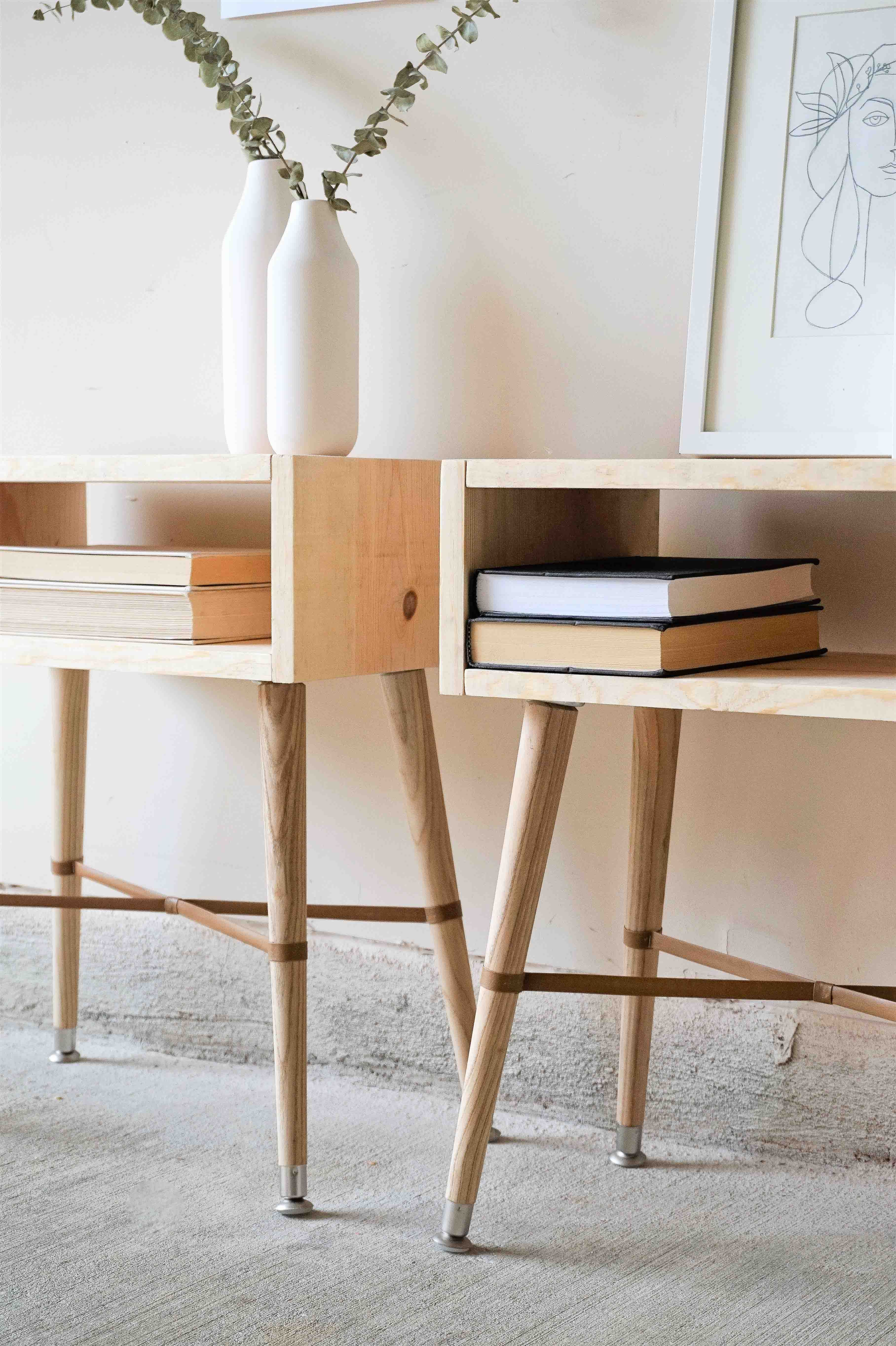 Yes, Virginia, You Can Build Your Own Nightstands | Home | Pinterest ...