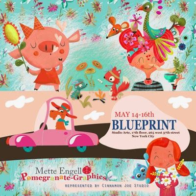 print & pattern: BLUEPRINT NY - cinnamon joe
