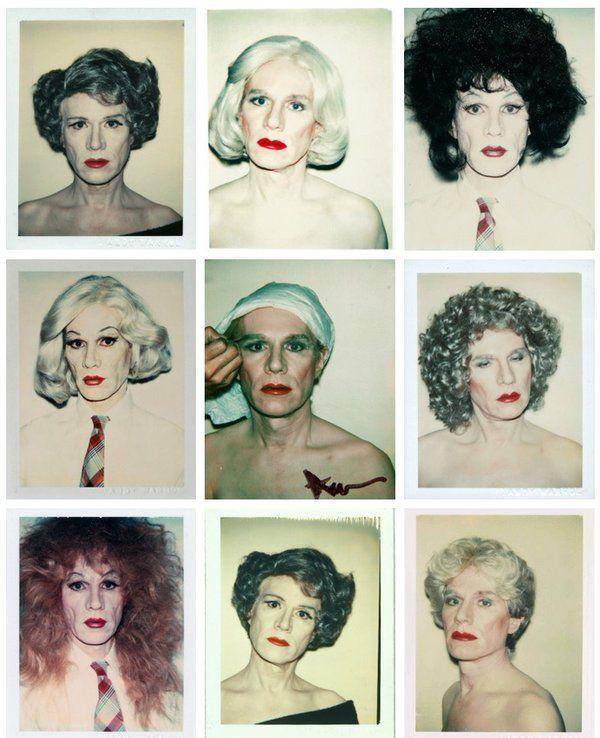 Andy Warhol's self-portraits (1981/82) pic.twitter.com/bwjHctZNoC via Classic Pics