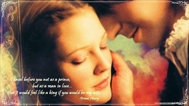 Quote To Remember: EVER AFTER: A CINDERELLA STORY [1998