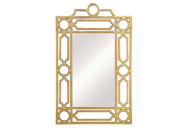 Love this Mirror-Art Deco/Chinoiserie