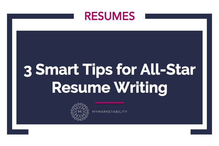 Star Resume 3 Smart Tips For Allstar Resume Writing #resume  Résumé Writing