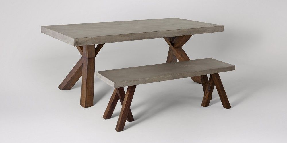 Bleecker Dining Table | Swoon Editions | Metal legs | Pinterest