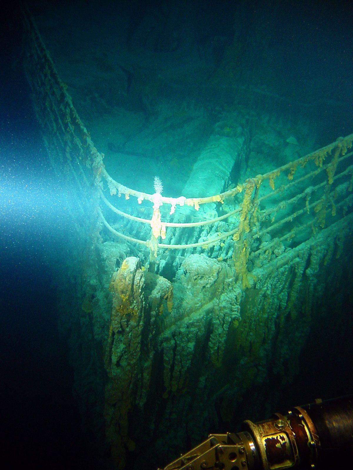 картинка как выглядит титаник под водой детальные