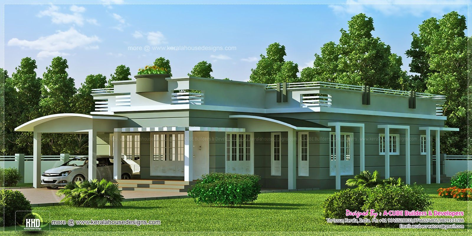 Single Story Home Designs One Story House Front View One Floor. Single Story Home Designs One Story House Front View One Floor