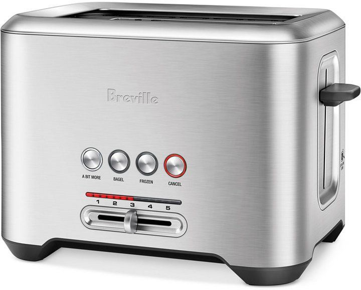 Breville Bta720xl Toaster 2 Slice A Bit More Toaster Stainless